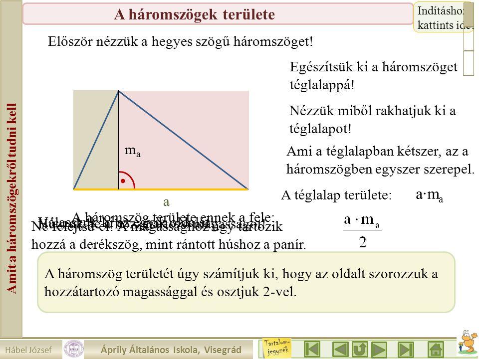 Amit a háromszögekről tudni kell