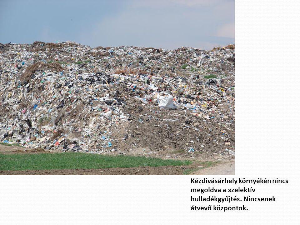 Kézdivásárhely környékén nincs megoldva a szelektív hulladékgyűjtés