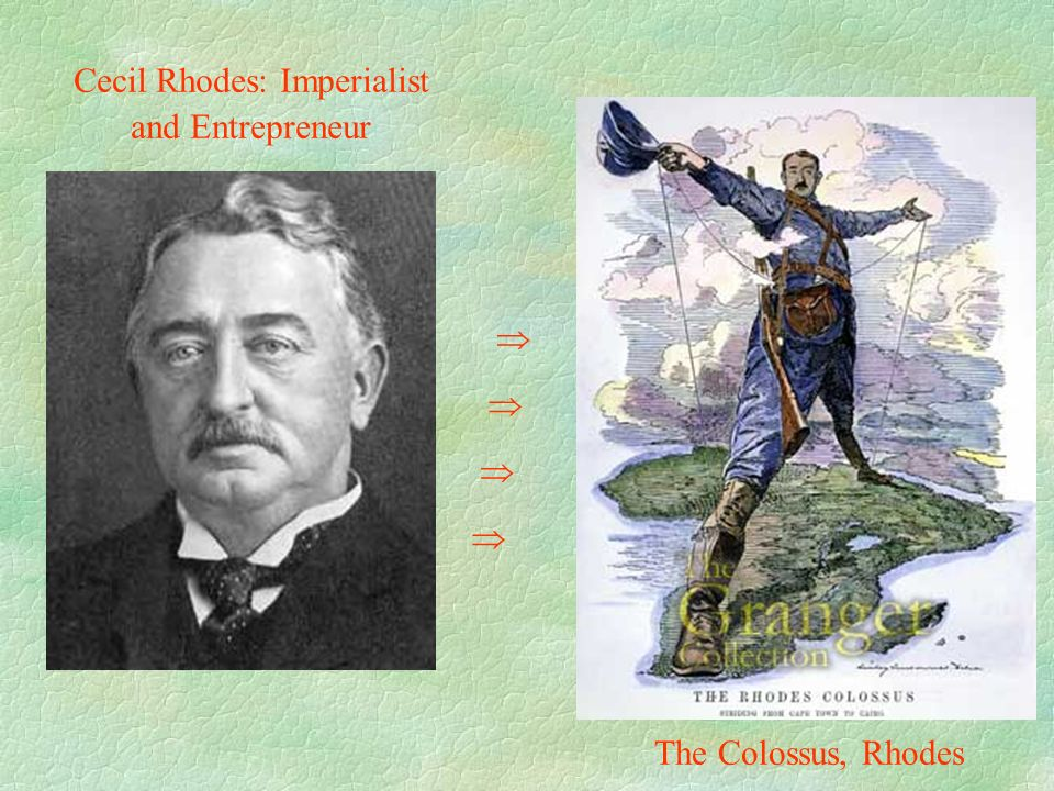 Cecil Rhodes: Imperialist and Entrepreneur