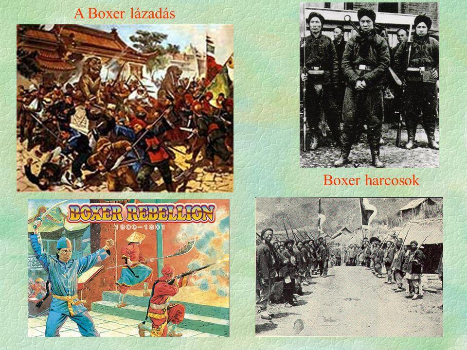 A Boxer lázadás Boxer harcosok