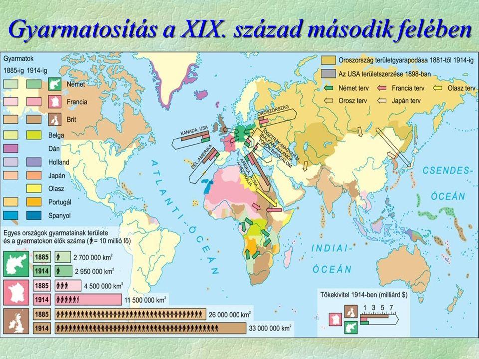 Gyarmatosítás a XIX. század második felében