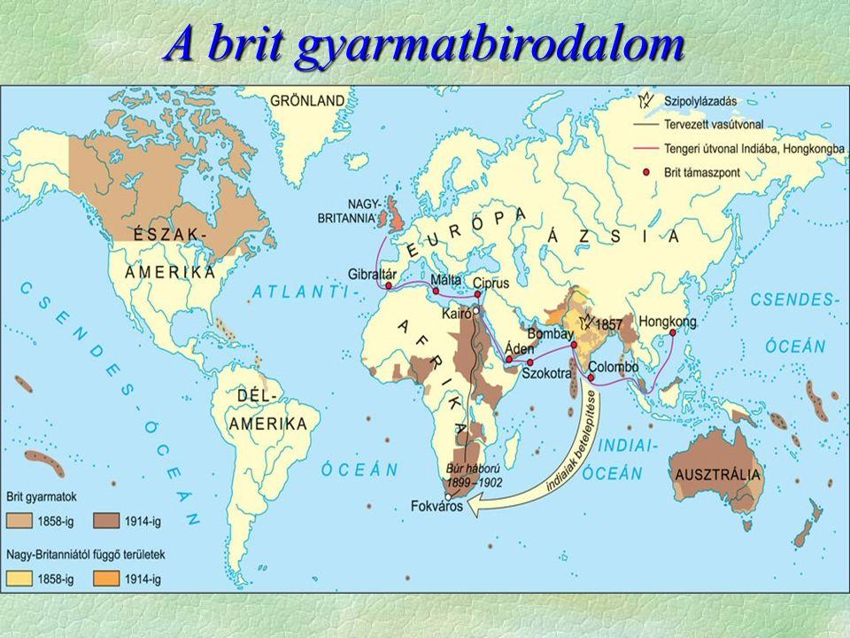 A brit gyarmatbirodalom