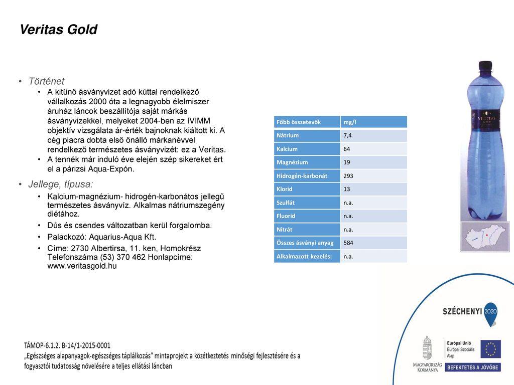 Veritas Gold Történet Jellege, típusa: