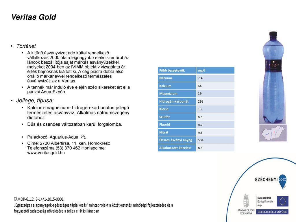 Veritas Gold Jellege, típusa: Történet