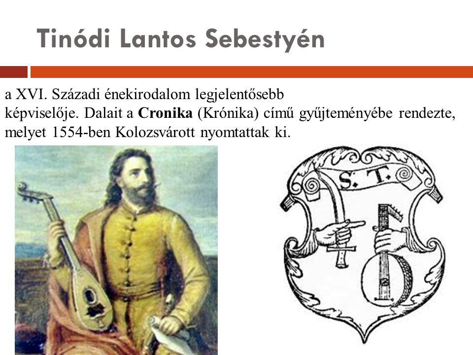 Tinódi Lantos Sebestyén
