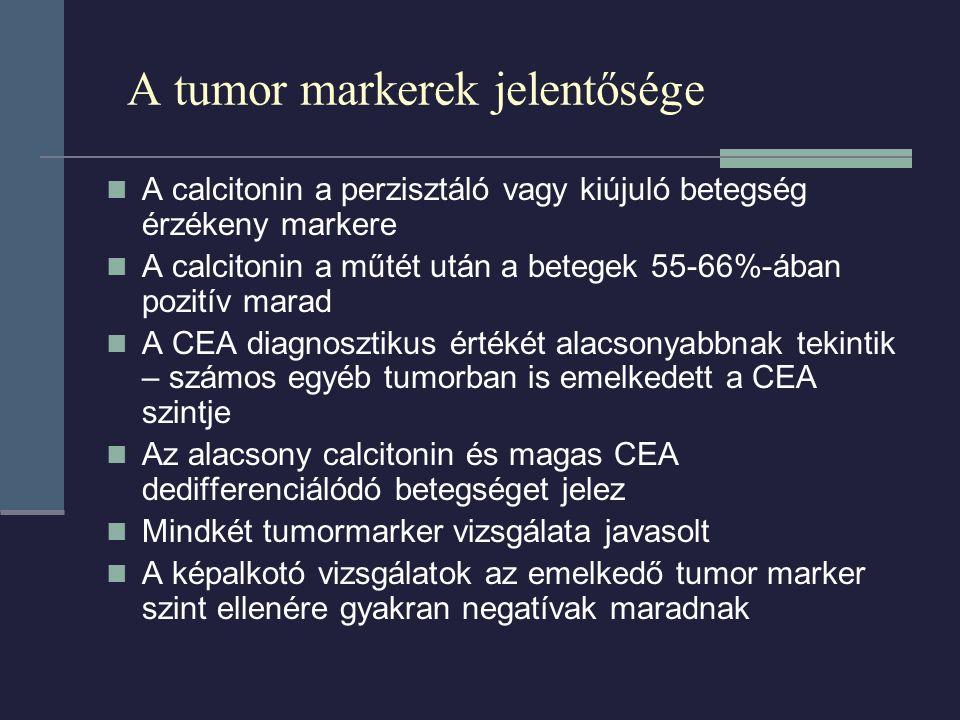 A tumor markerek jelentősége