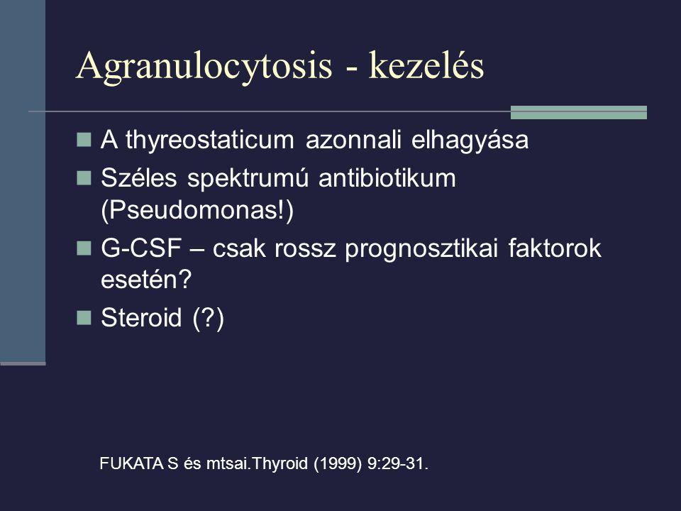 Agranulocytosis - kezelés
