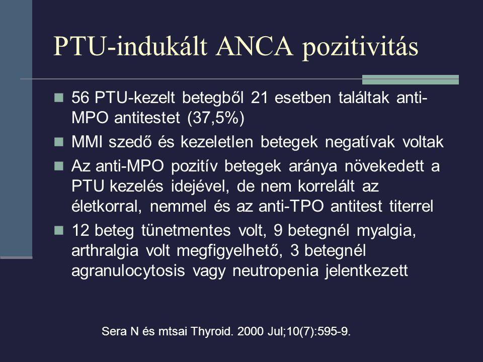 PTU-indukált ANCA pozitivitás