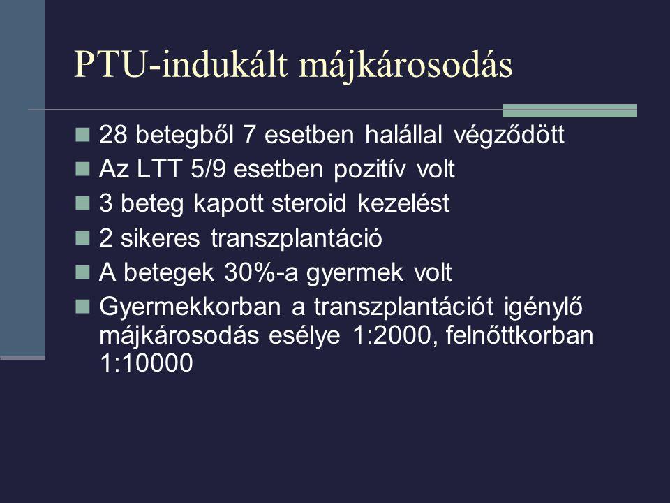 PTU-indukált májkárosodás