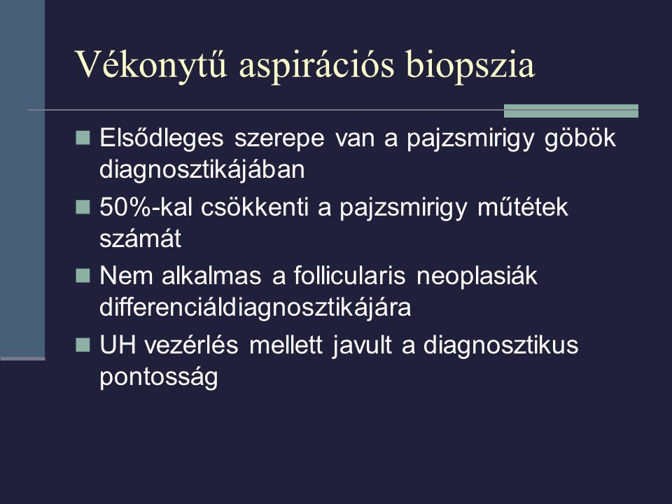 Vékonytű aspirációs biopszia