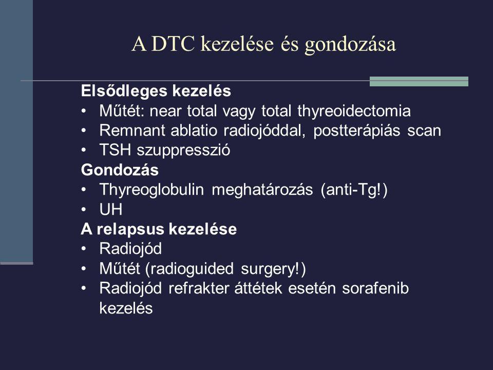 A DTC kezelése és gondozása
