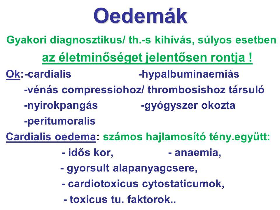 - cardiotoxicus cytostaticumok,