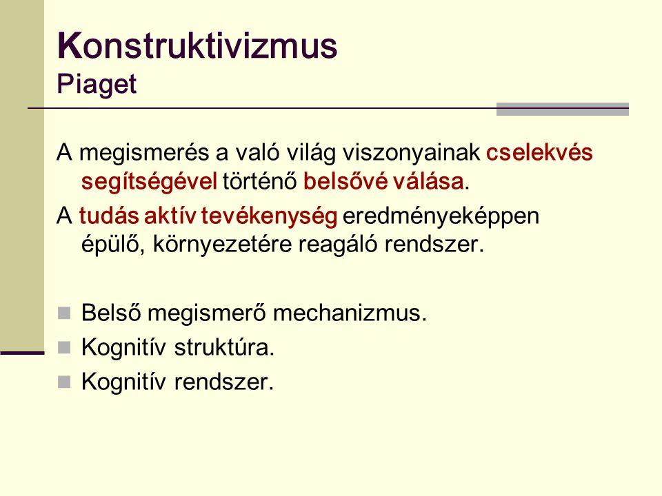 Konstruktivizmus Piaget
