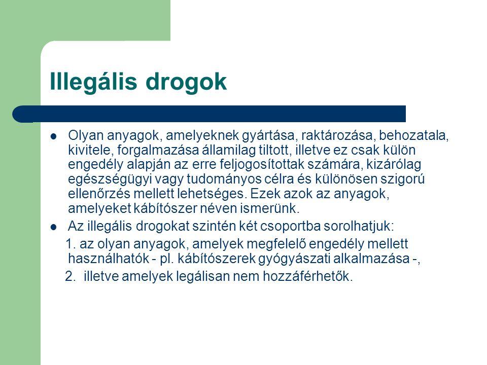 Illegális drogok