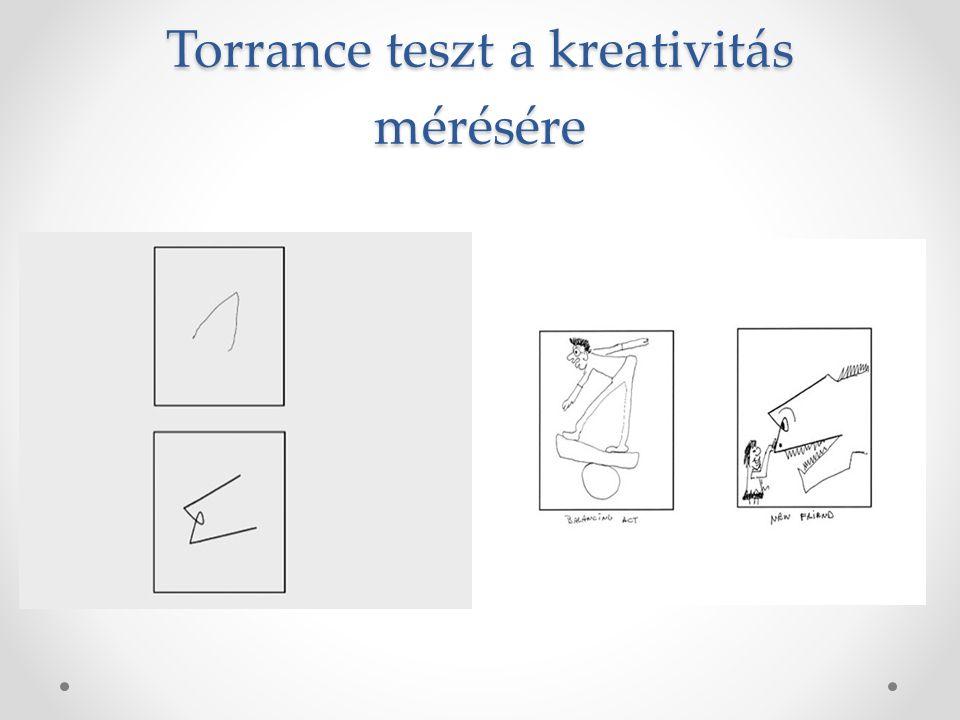 Torrance teszt a kreativitás mérésére