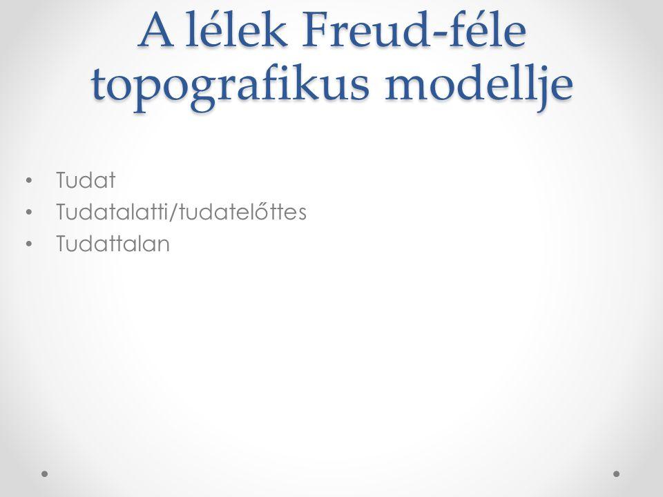 A lélek Freud-féle topografikus modellje