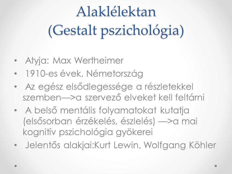Alaklélektan (Gestalt pszichológia)