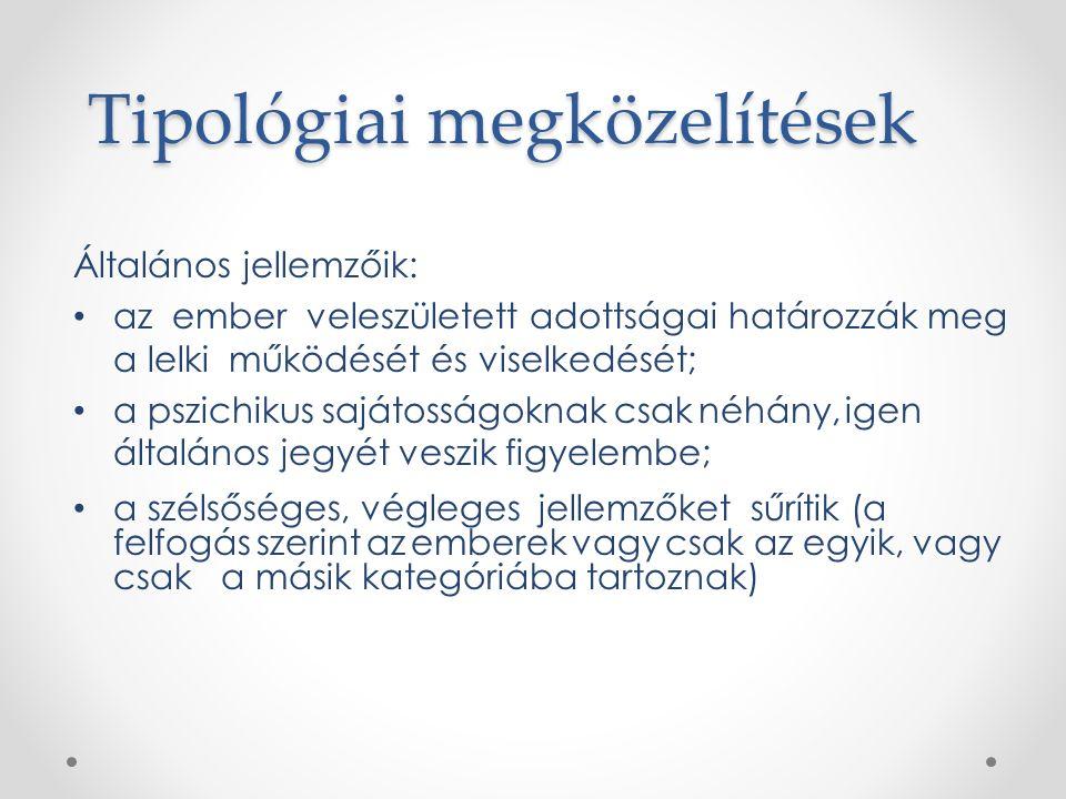 Tipológiai megközelítések
