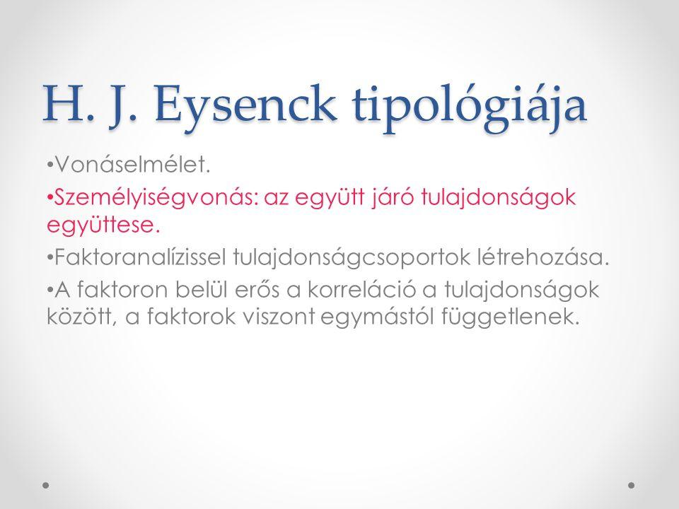 H. J. Eysenck tipológiája