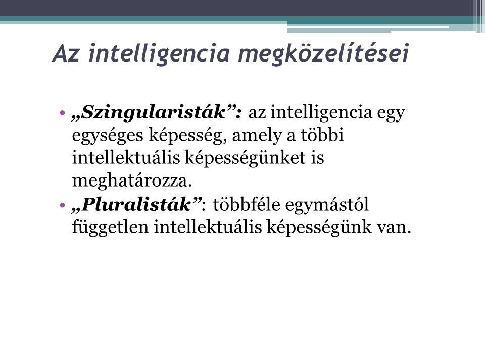 Az intelligencia megközelítései
