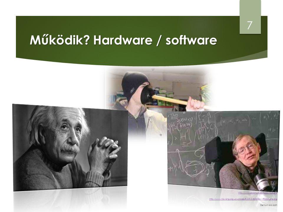 Működik Hardware / software