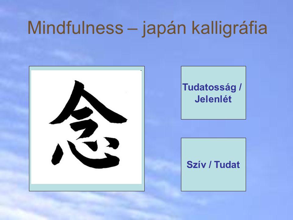 Mindfulness – japán kalligráfia