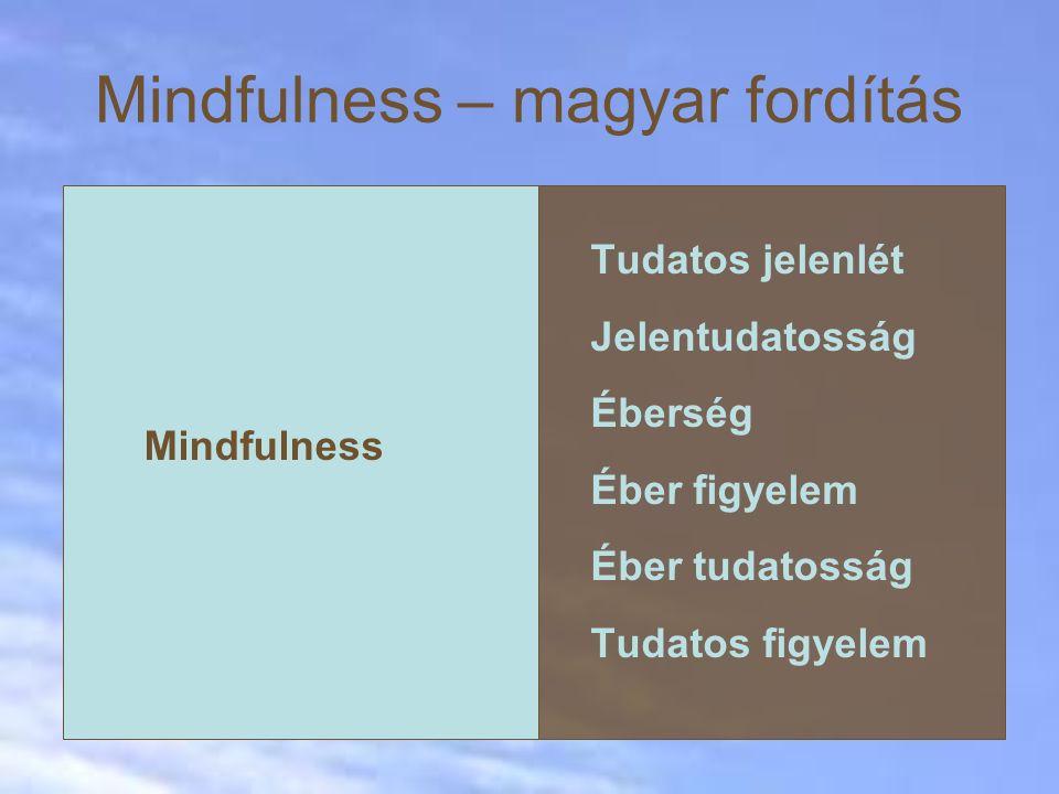 Mindfulness – magyar fordítás