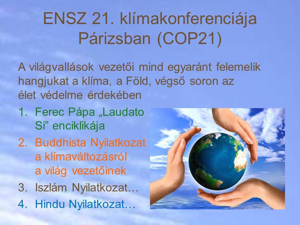 ENSZ 21. klímakonferenciája Párizsban (COP21)