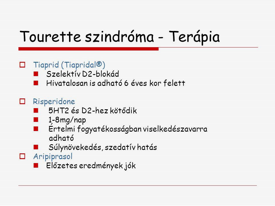 Tourette szindróma - Terápia