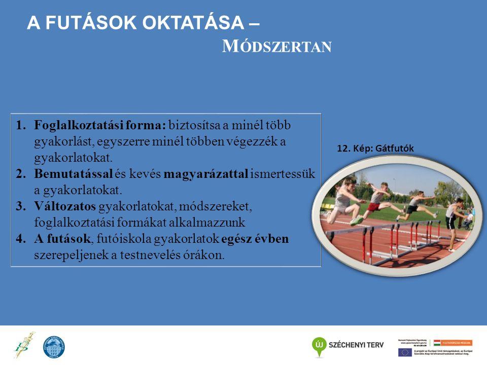 A futások oktatása – Módszertan