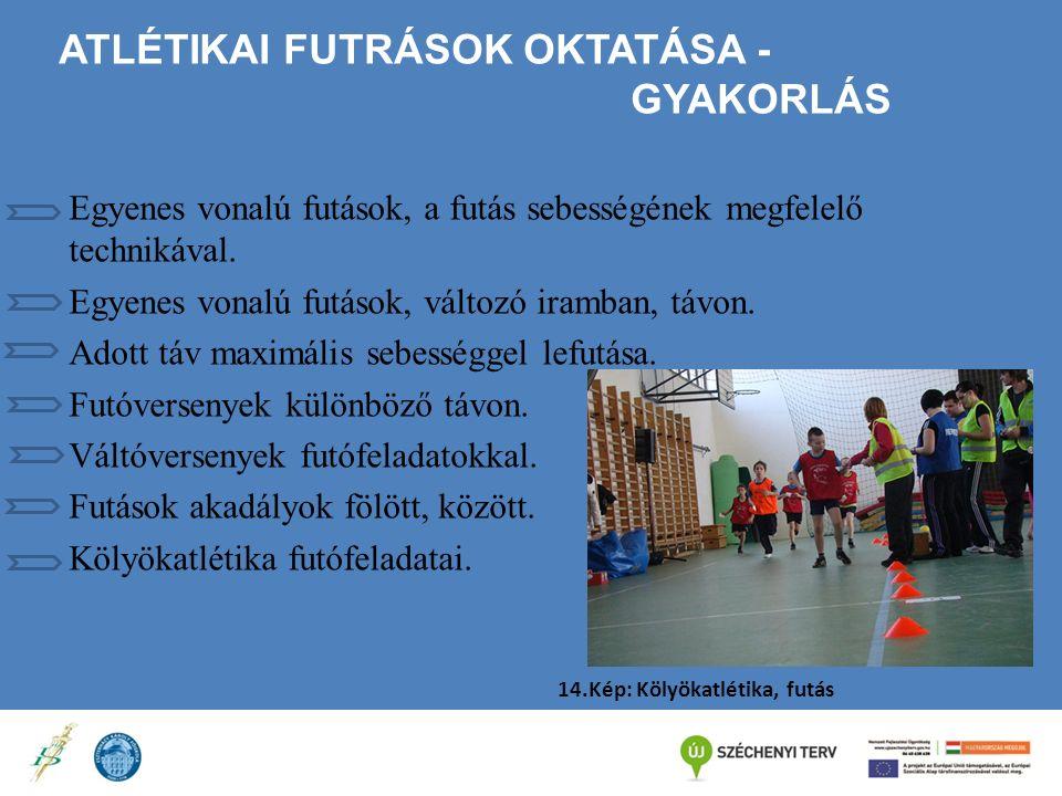 Atlétikai futrások oktatása - Gyakorlás