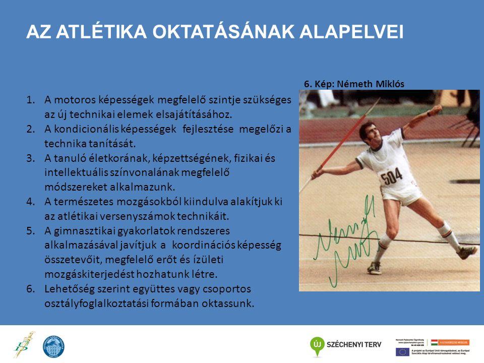 Az atlétika oktatásának alapelvei