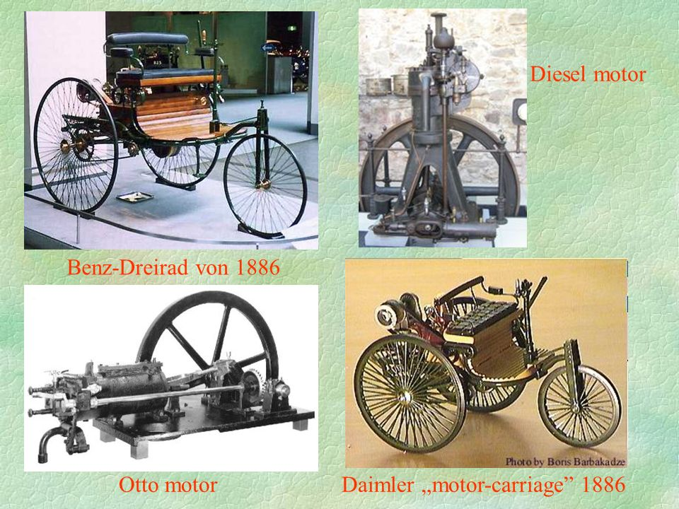 "Daimler ""motor-carriage 1886"