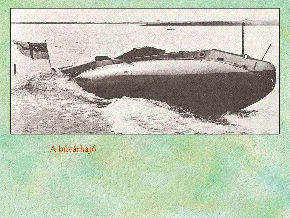 A búvárhajó