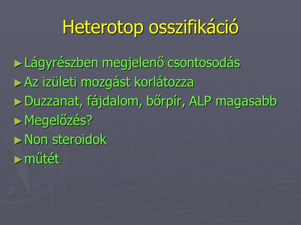Heterotop osszifikáció