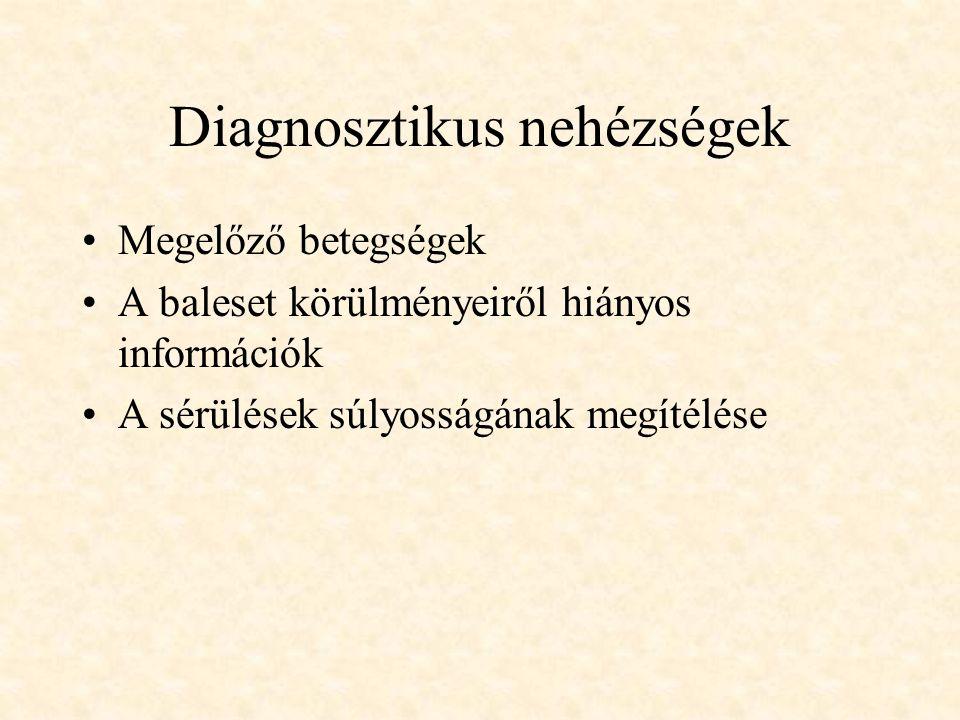Diagnosztikus nehézségek