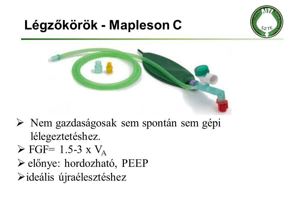 Légzőkörök - Mapleson C