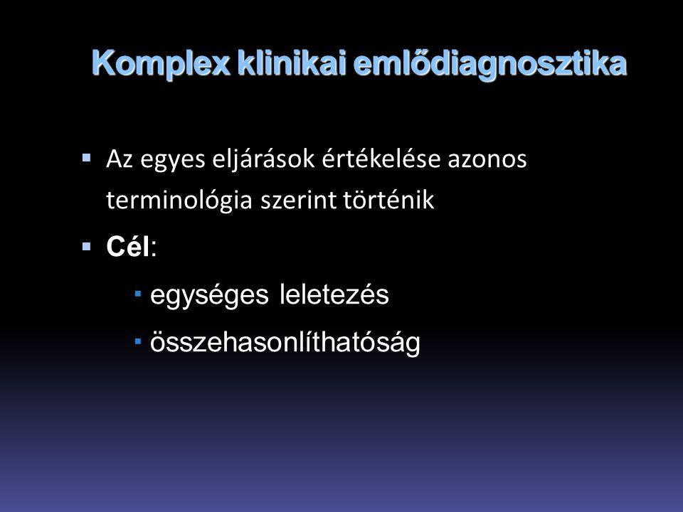 Komplex klinikai emlődiagnosztika
