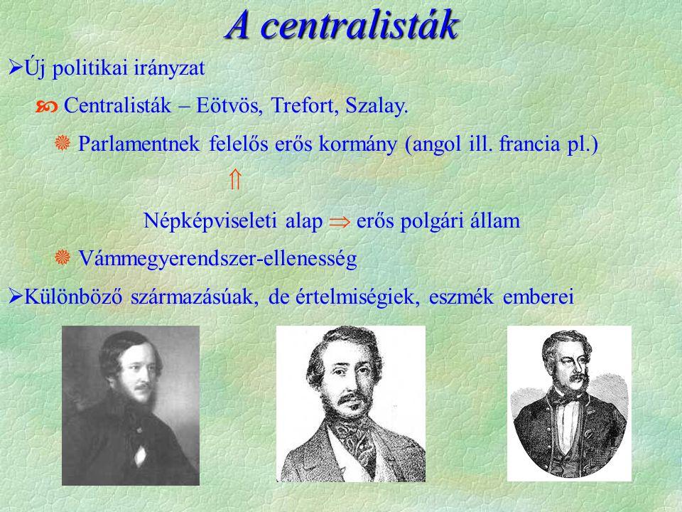 A centralisták Új politikai irányzat