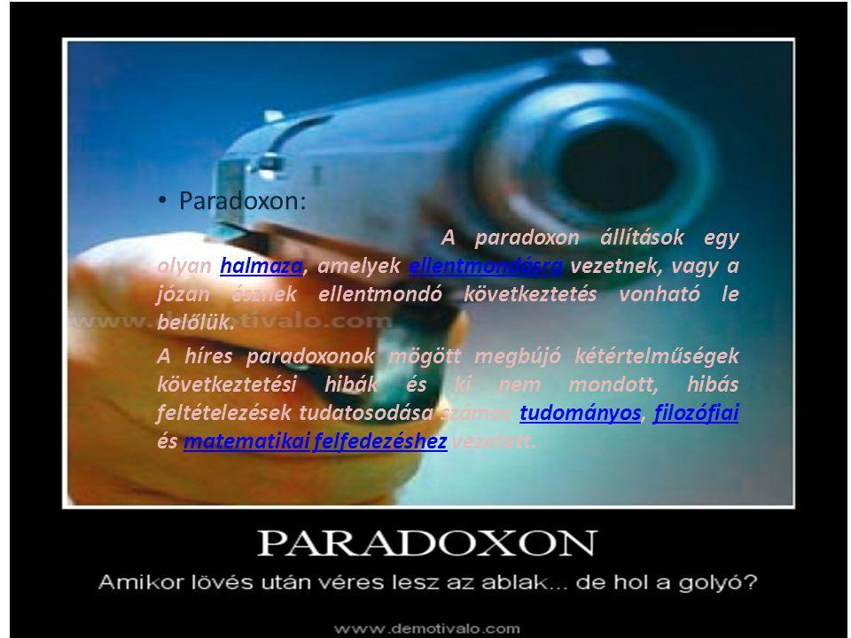 Paradoxon: