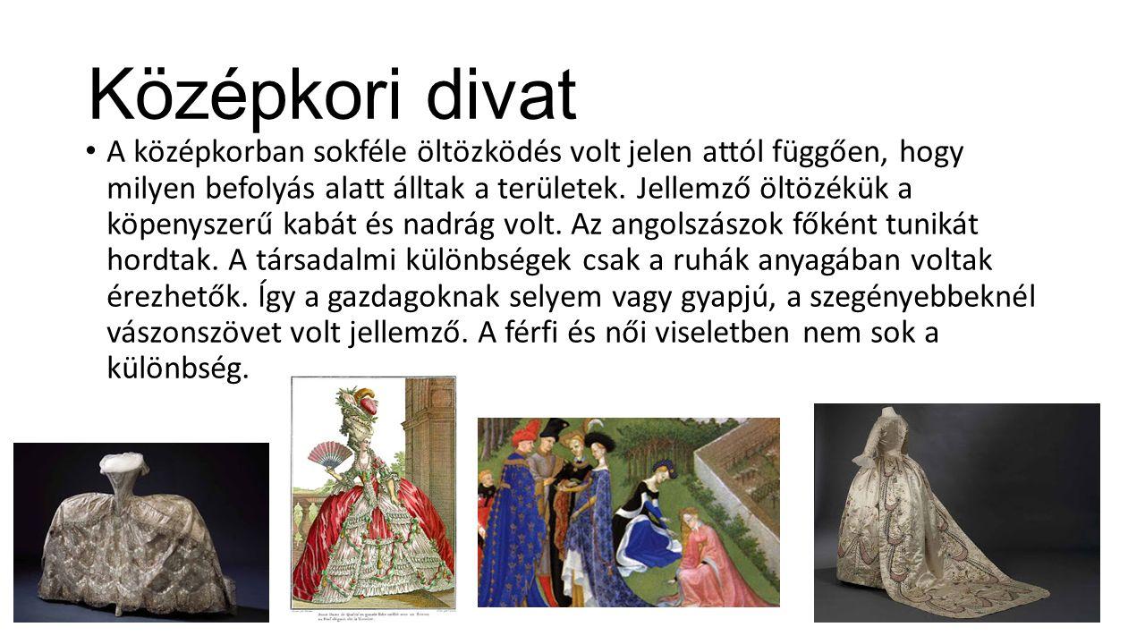 Középkori divat