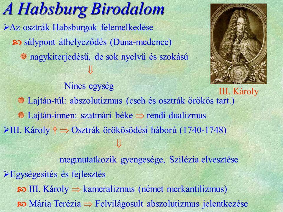 A Habsburg Birodalom Az osztrák Habsburgok felemelkedése
