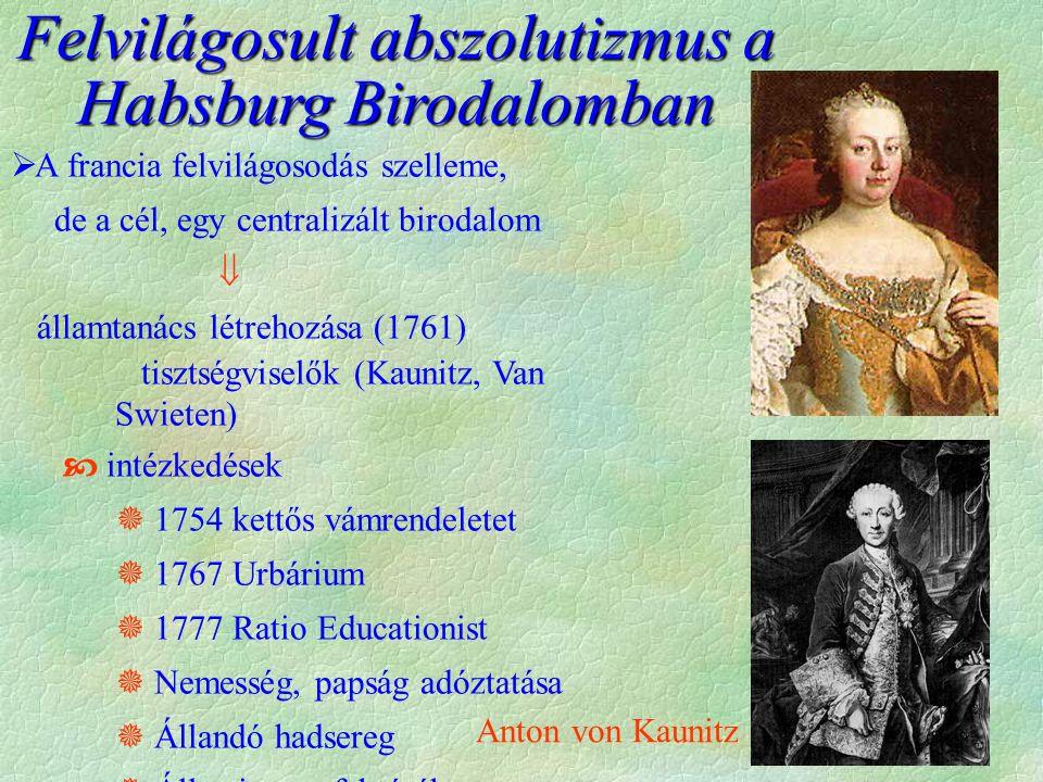 Felvilágosult abszolutizmus a Habsburg Birodalomban