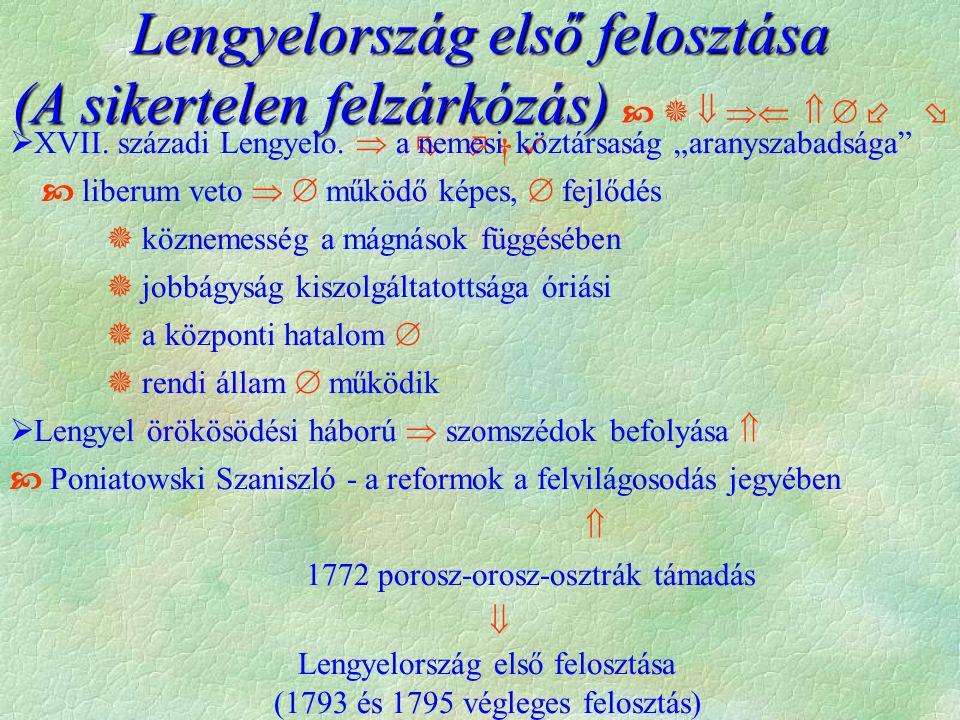 Lengyelország első felosztása