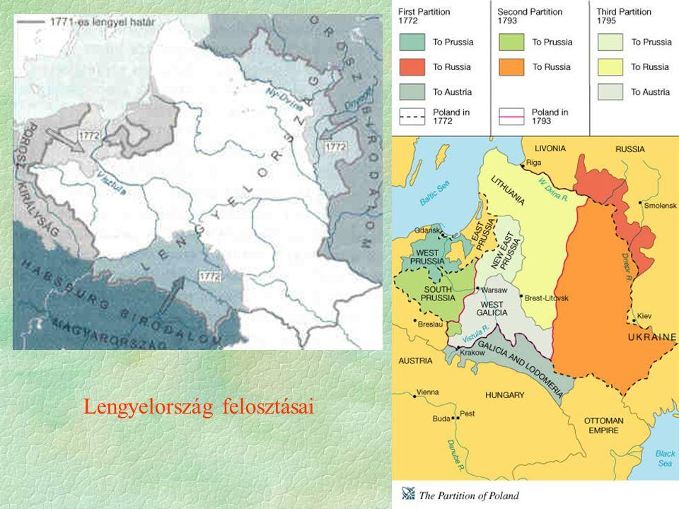 Lengyelország felosztásai
