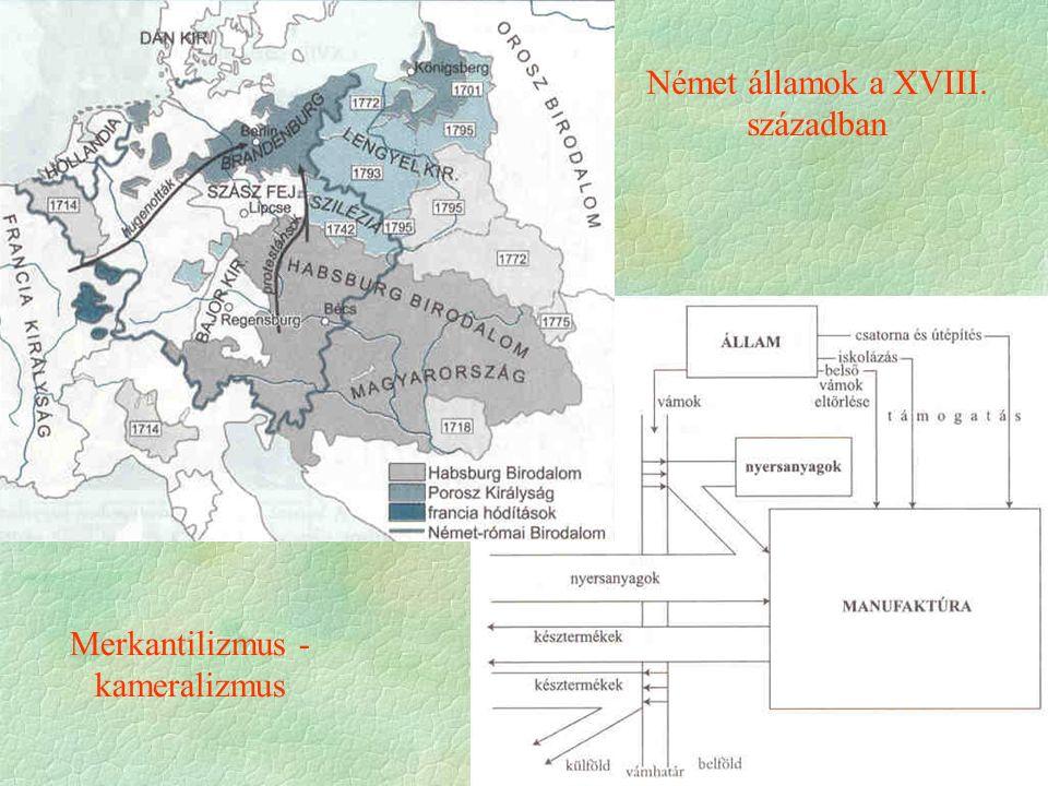 Német államok a XVIII. században