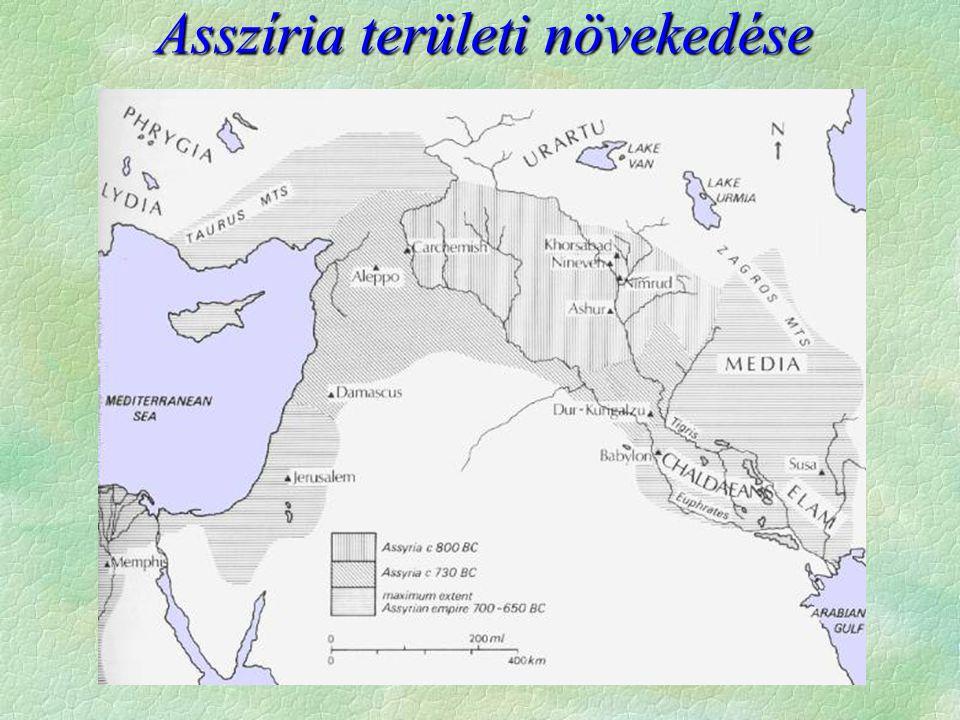 Asszíria területi növekedése