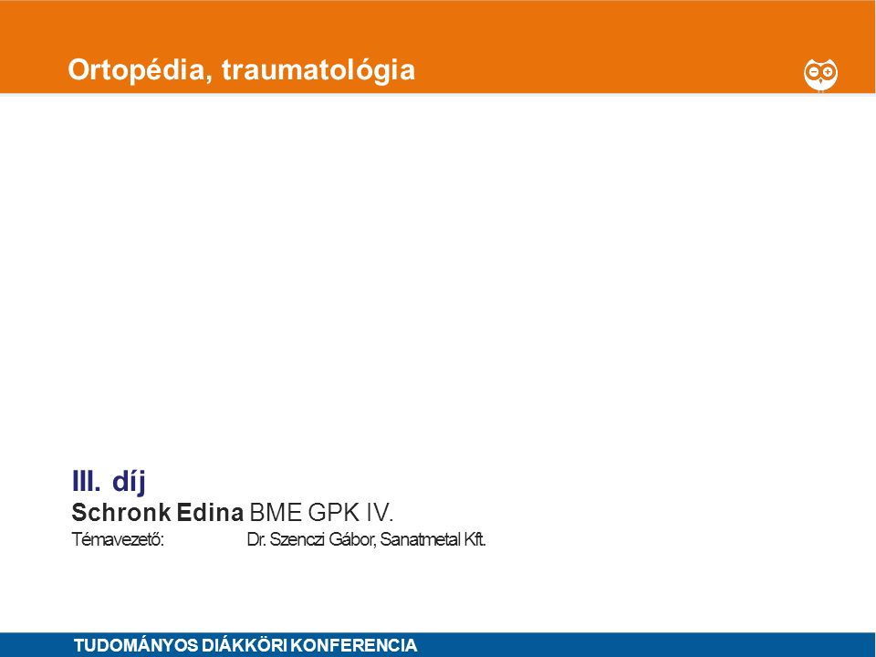 Ortopédia, traumatológia