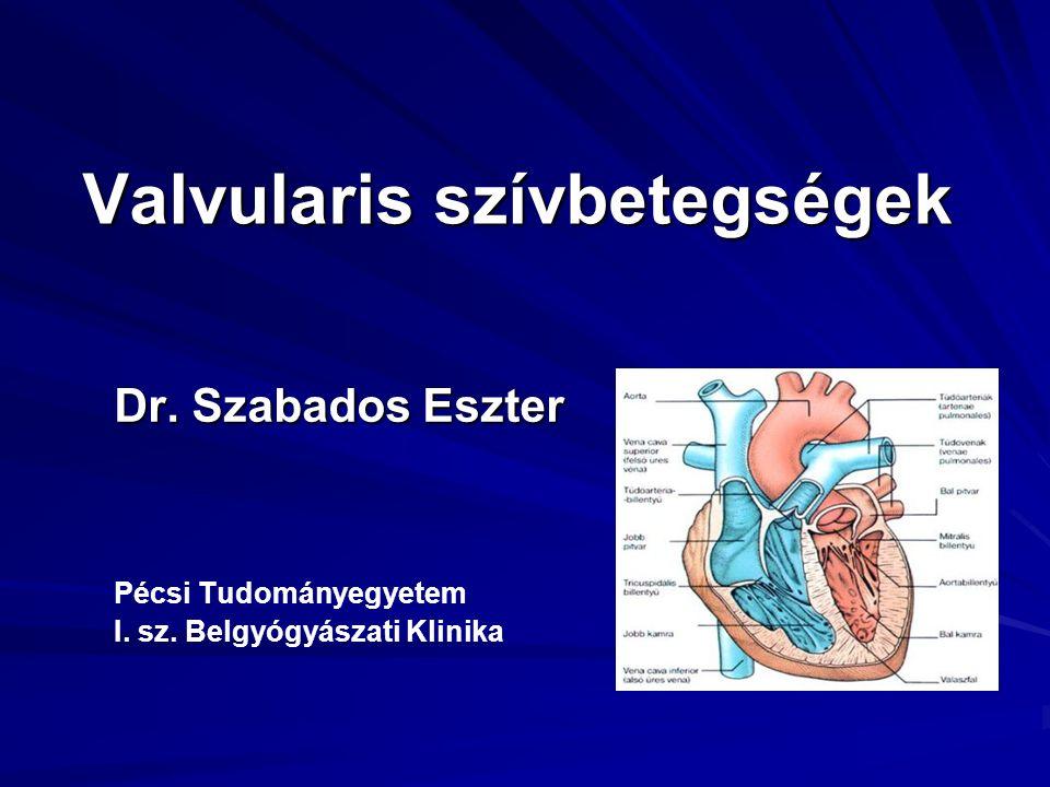 Valvularis szívbetegségek