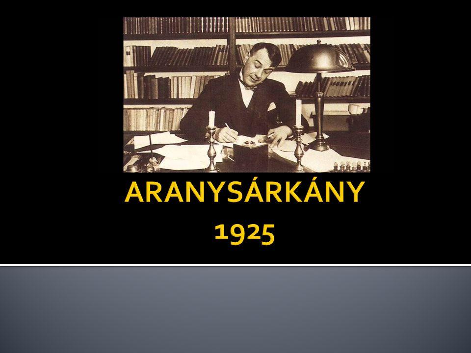 ARANYSÁRKÁNY 1925